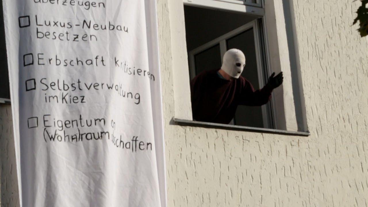 Herbst der Besetzungen - Aktivist*innen besetzen Haus in Berlin