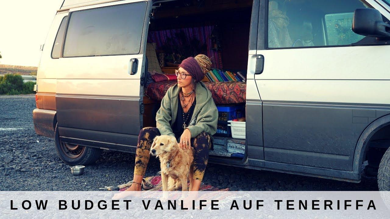 300 € Ausgaben im Monat - so günstig lebt Anna im Van