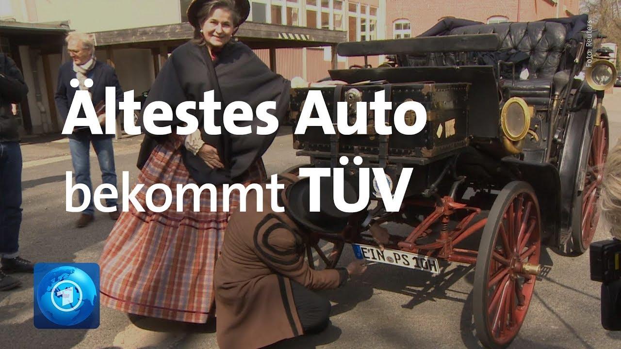 125 Jahre alter Oldtimer bekommt TÜV