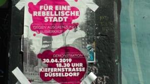 Für eine rebellische Stadt / Demo am 30.4. in Düsseldorf