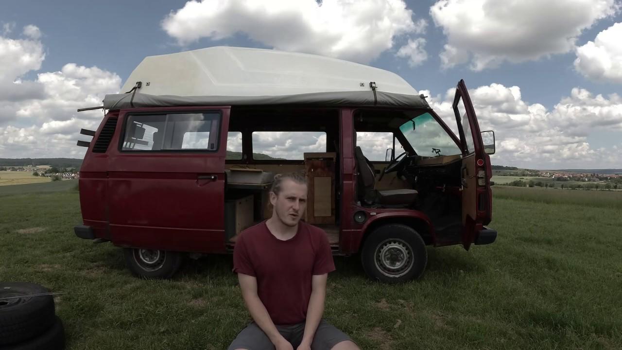 Ich verkaufe meinen VW - Bus | T3 1,6 TD JX 5-Gang Hochdach