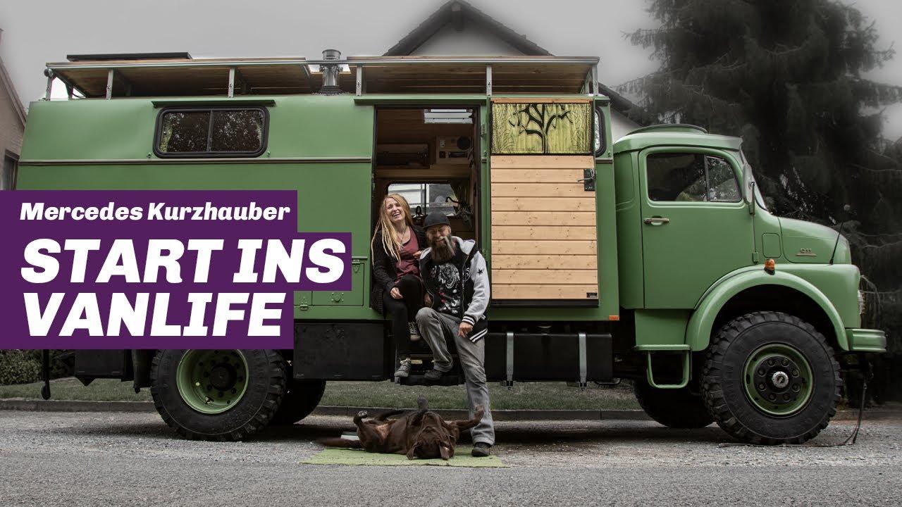 Mercedes Kurzhauber Umbau zum Wohnmobil – So viel Arbeit und Geld steckt wirklich drin