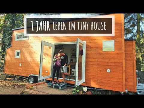 ➤ 1 Jahr leben im Tiny House! Rückblick, Fazit + Zurück in die Wohnung? I Tiny House Deutschland