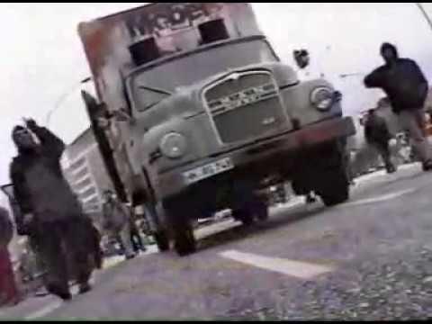 2002 Bambule Hamburg Wagenplatz  nach 10 jahren geräumt