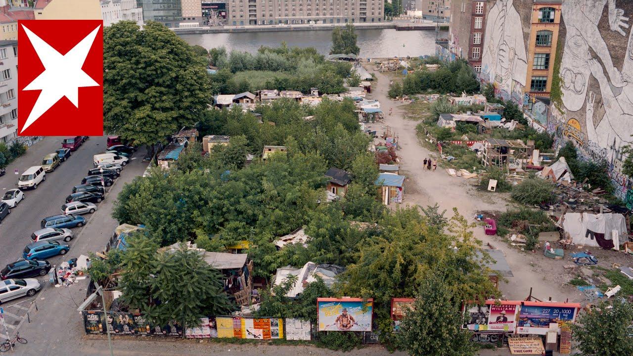 Cuvry-Brache: Zu Besuch in Deutschlands erster Favela