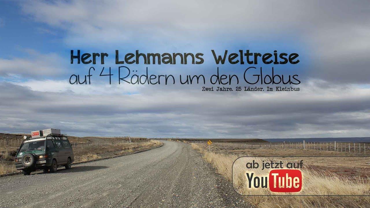 Herr Lehmanns Weltreise - auf 4 Rädern um den Globus [FULL MOVIE]